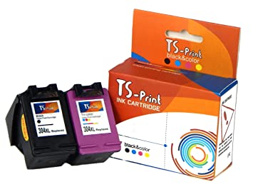 TS-Print Cartuchos de Tinta HP 304XL Impresora Deskjet 2600 2620 ...