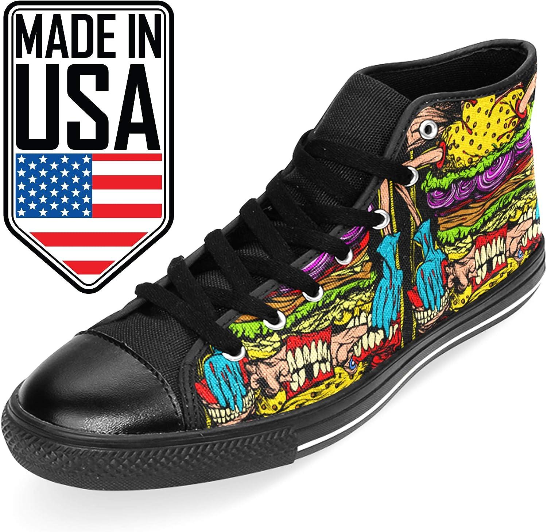 Top Canvas Mens Sneakers