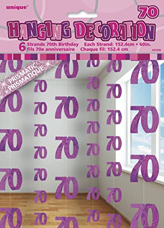 Servietten Radiant 16 Stück Zahl 70 Partydeko Geburtstag Feier