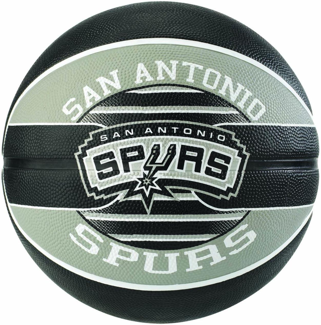 Spalding Ballon NBA Team Ball SA Spurs: Amazon.es: Deportes y aire ...