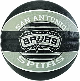 Spalding NBA Team Sa Spurs Ballon de Basket Mixte SPAA3|#Spalding