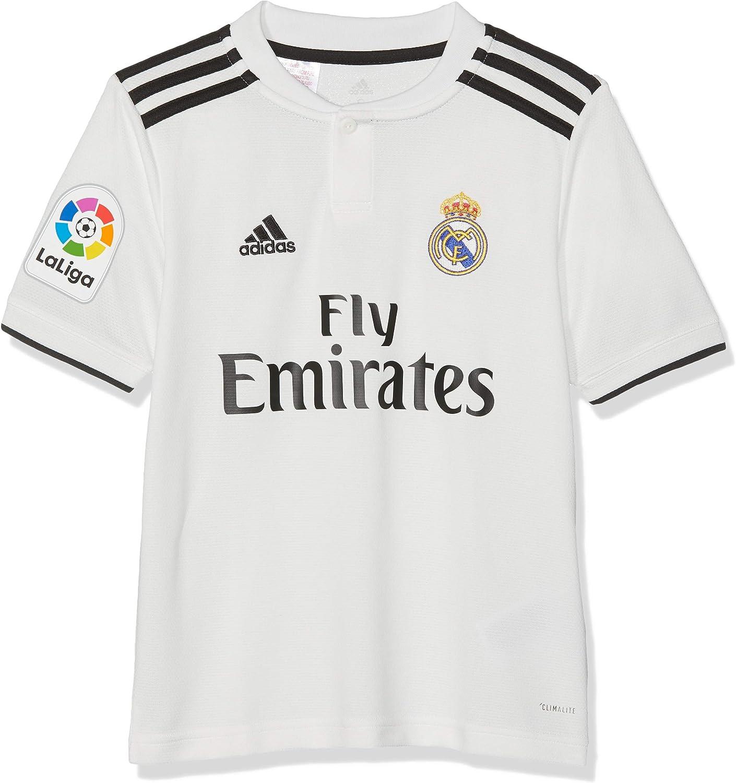 adidas 18/19 Real Madrid Home - Lfp - Camiseta Niños: Amazon.es: Ropa y accesorios