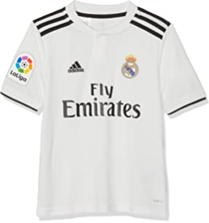 d1e05b9ec16 Amazon.com : adidas 2018-2019 Real Madrid Third Full Kit (Kids ...