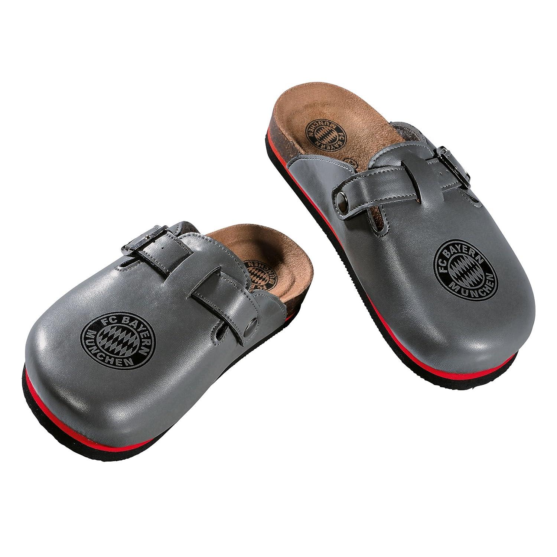 FC Bayern M/ünchen Hausschuhe Gratis Sticker M/ünchen Forever Shoes Chaussures FCB 花园鞋 Schuhe Zapatos Schuh