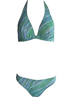 Solaire Tan Thru Triangle de Bikini avec armatures 1208b06Turquoise