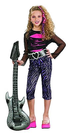 Rubieu0027s Rock Star Childu0027s Costume ...  sc 1 st  Amazon.com & Amazon.com: 80s Rock Star Child Costume: Toys u0026 Games