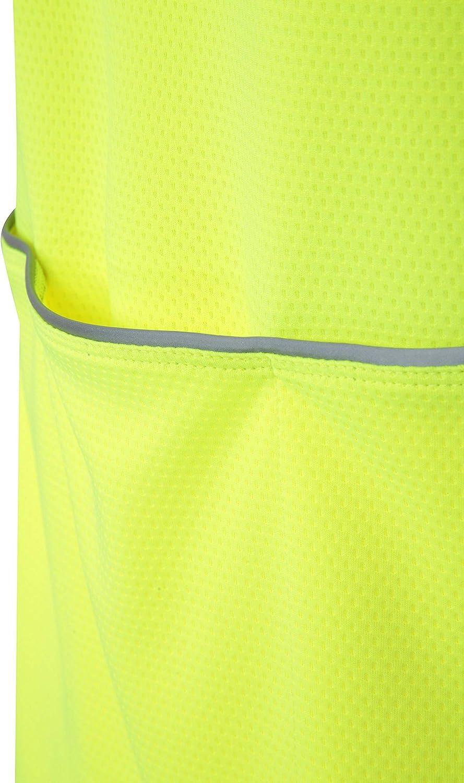 High Vis Bike T-Shirt Mountain Warehouse Cycle Mens Short Sleeve Tee