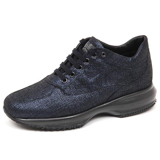 E4254 sneaker donna blu HOGAN INTERACTIVE scarpe shoe woman