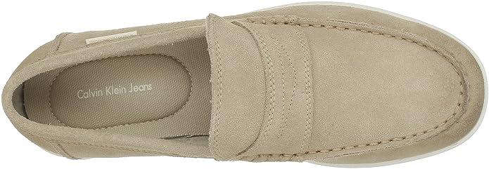 Calvin Klein Jeans Jaxson Suede, Mocasines para Hombre, Beige (SND), 39 EU: Amazon.es: Zapatos y complementos