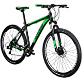 EUROBIKE X9 Mountain Bike 21 Speed 29 Inches Wheels Dual Disc Brake Aluminum Frame MTB Bicycle
