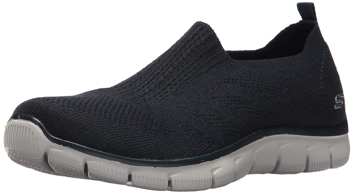 Skechers Women's Empire Clear As Day Sneaker B01NCXS8M8 7.5 B(M) US|Navy