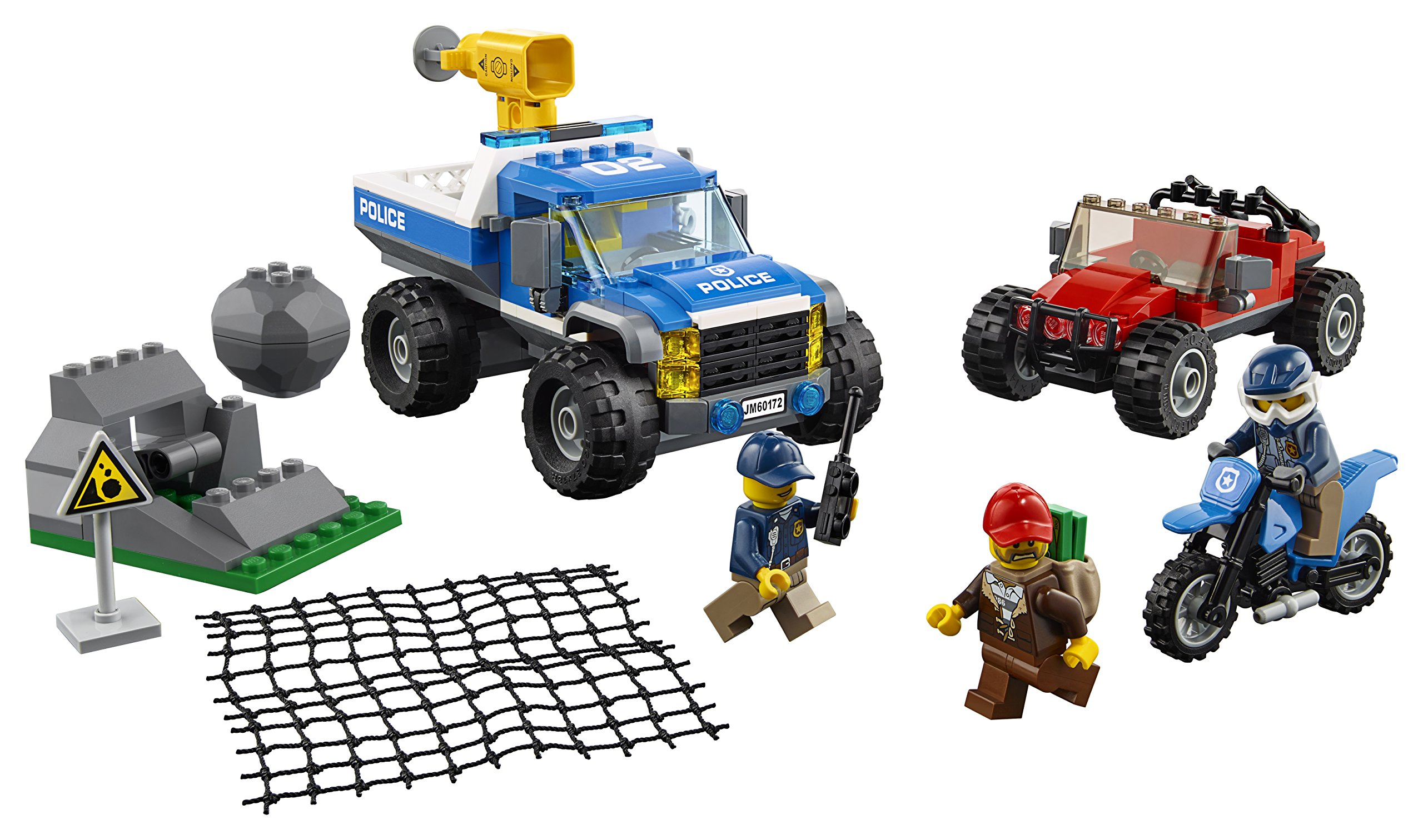 Lego City Lot Of 2 Sets 60170 /& 60171 Offroad Chase /& Mountain Fugitives