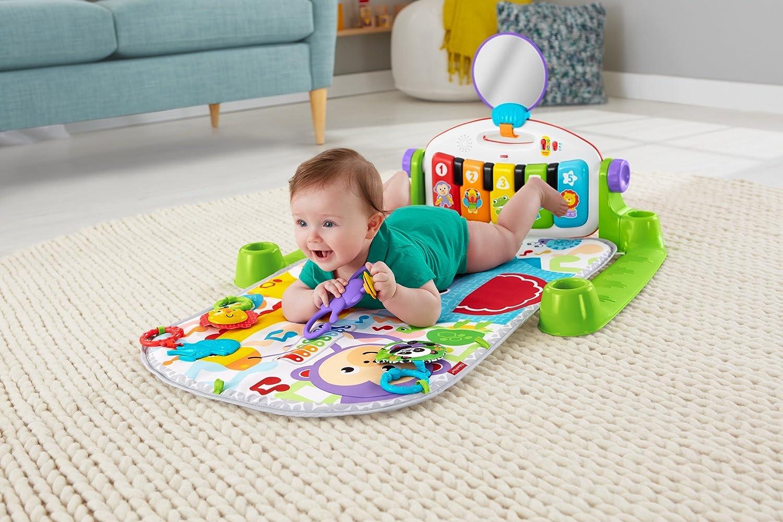 manta de juego beb/é Fisher-Price Gimnasio Piano Pataditas superaprendizaje Mattel FWT12
