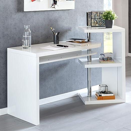 Wohnling escritorio Marcie 145 x 50 x 94 cm Oficina Mesa con ...