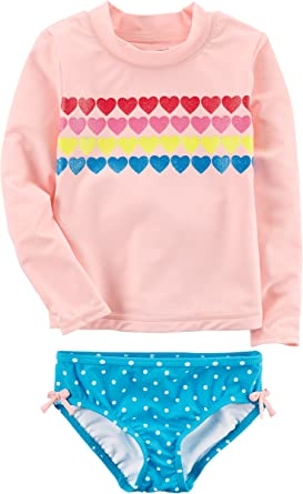 Carters Girls Two-Piece Swimsuit