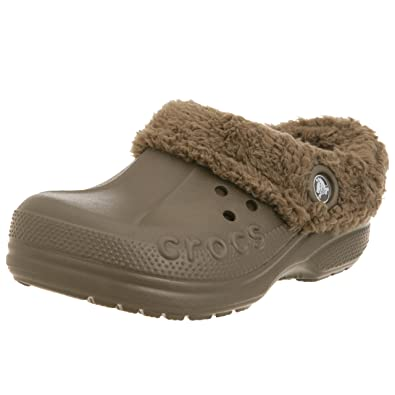 Crocs Blitzen Clog (Toddler/Little Kid),Chocolate/Chocolate,10-