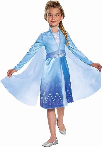 Elsa Frozen 2 Classic Girls' Halloween Costume