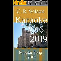 Karaoke 2016-2019: Popular Song Lyrics