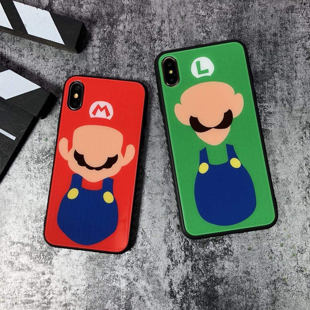 Amazon.com: Super Mario & Luigi - Carcasa de cristal ...