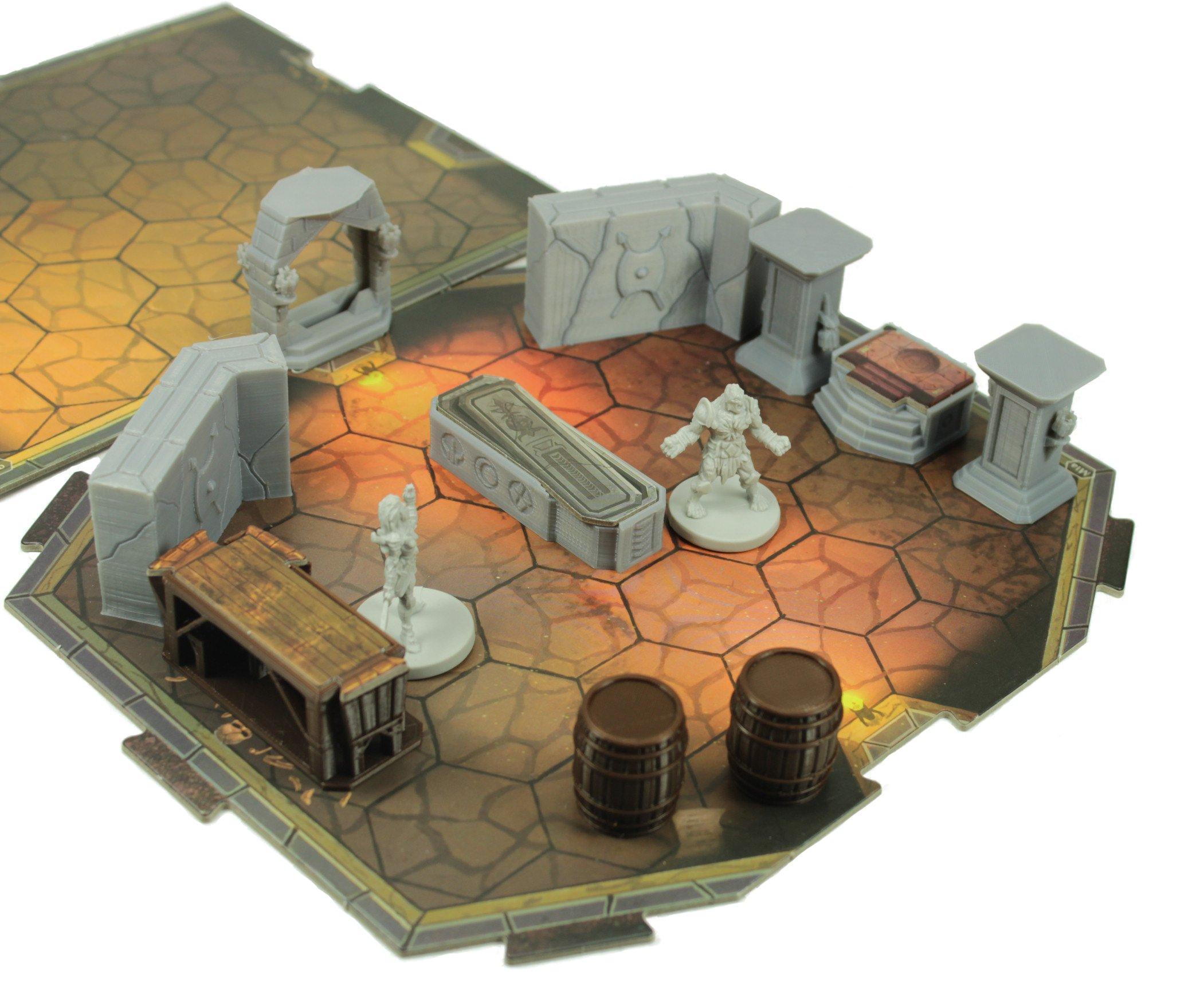 Gloomhaven Custom 54 Piece Token Set by Loaded Dice Designs (Image #6)
