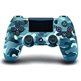 DualShock 4 Wireless Controller for PlayStation 4 - Blue Camouflage (Color: Blue Camouflage)