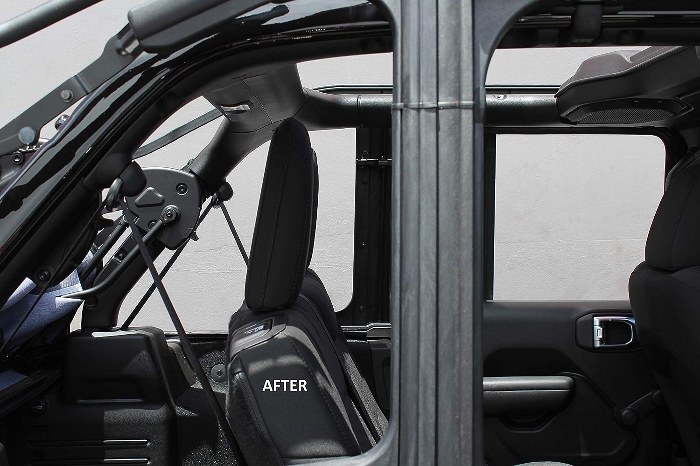 All Models 2018-Present IJKP-23 Innovative JK Products Rear Seat Recline Kit for Jeep JLU Wrangler 4-Door