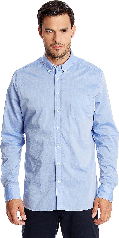 Hackett London Fine Chambray - Camisa para hombre Azul ...