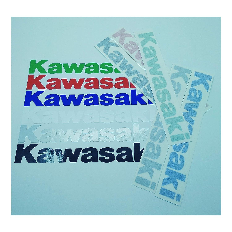 ALOBA KIT stickers autocollants vinyle adh/ésif KAWASAKI 2//4//6 diff/érentes couleurs 20//30cm
