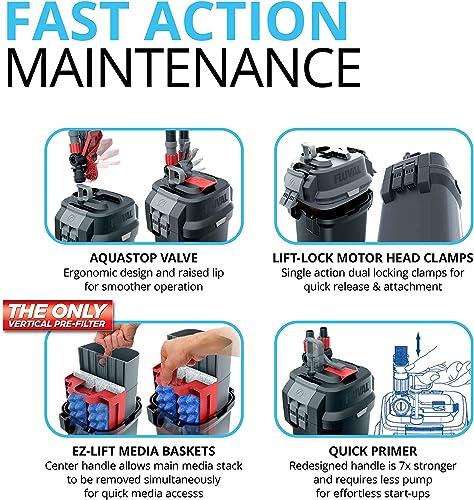 Fluval 107 canister filter maintenance