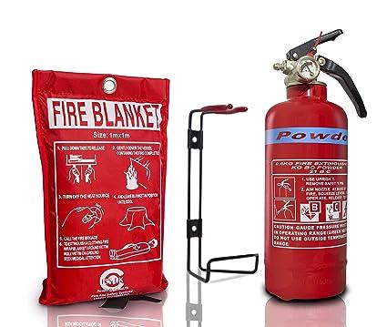 Norma británica - Protector de FSS UK 600 G ABC polvo seco extintor con CE marcado