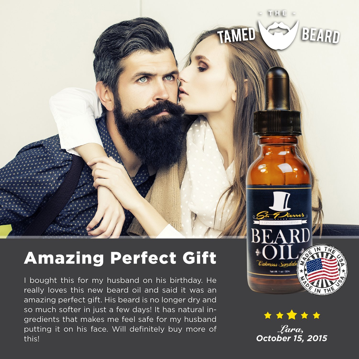 Amazon.com : Best Sandalwood Beard Oil   Conditioner U0026 Softener For Men    Stronger Scent Oils, Includes Argan And Jojoba   Available In 1 U0026 2 Oz :  Beauty