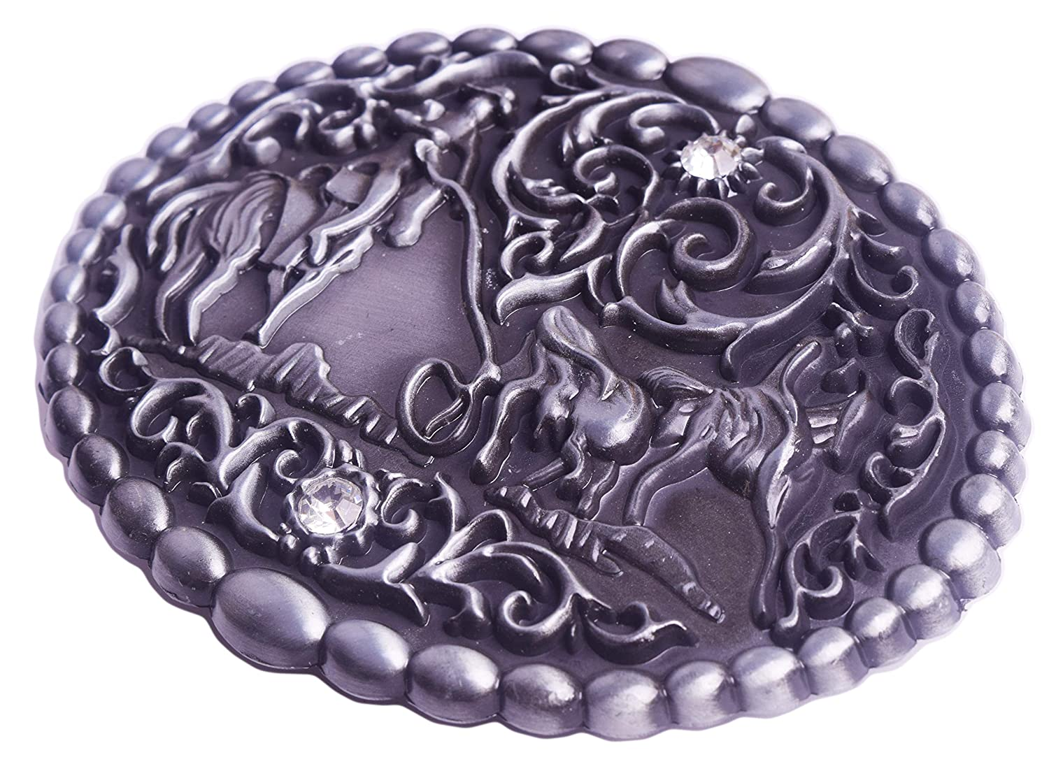 Belt Buckles Pull Horse Cowboy And Horse Thickness Rhombus Accessories