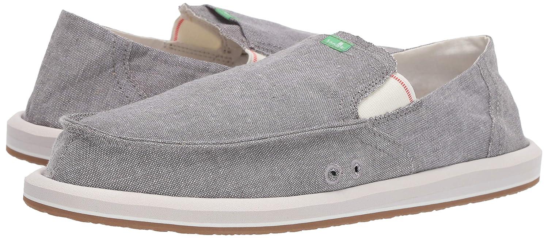 Clothing, Shoes & Accessories New Sanuk Pick Pocket Denim Sidewalk Surfer Loafer Beach Mens Shoe Size 12 Tan Casual Shoes
