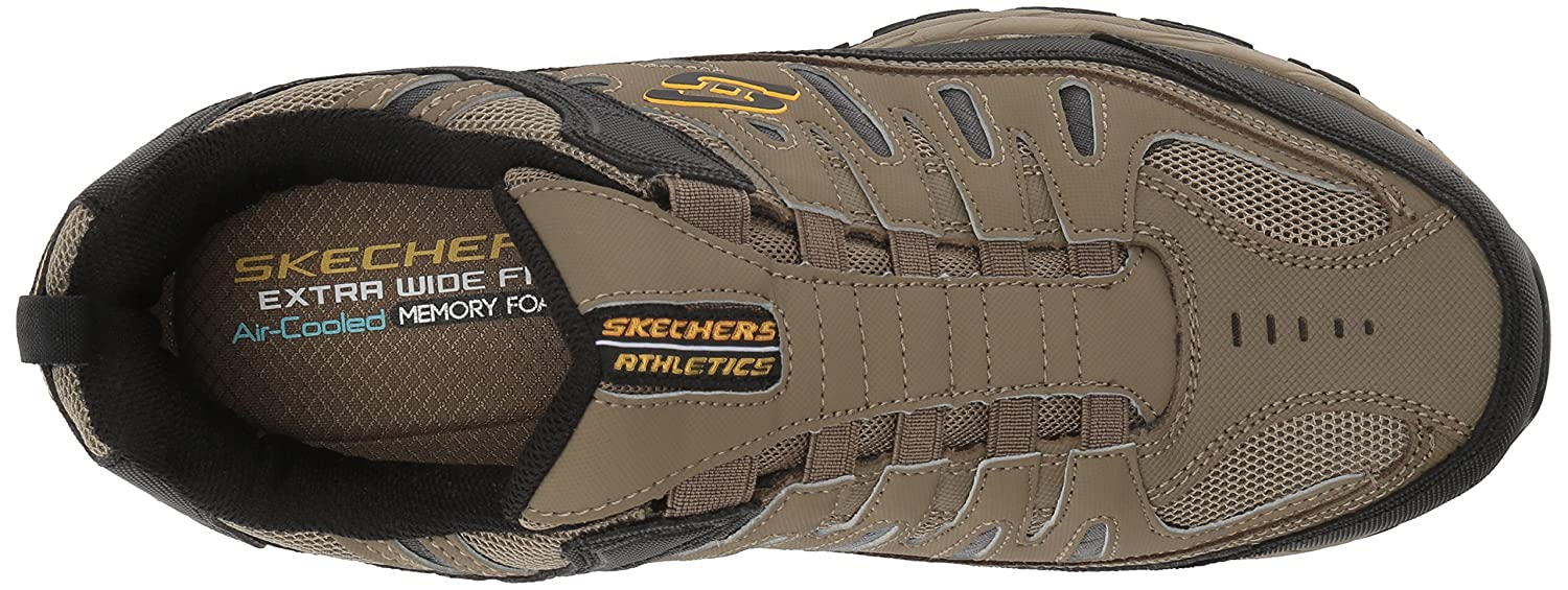 Skechers-Afterburn-Memory-Foam-M-Fit-Men-039-s-Sport-After-Burn-Sneakers-Shoes thumbnail 76