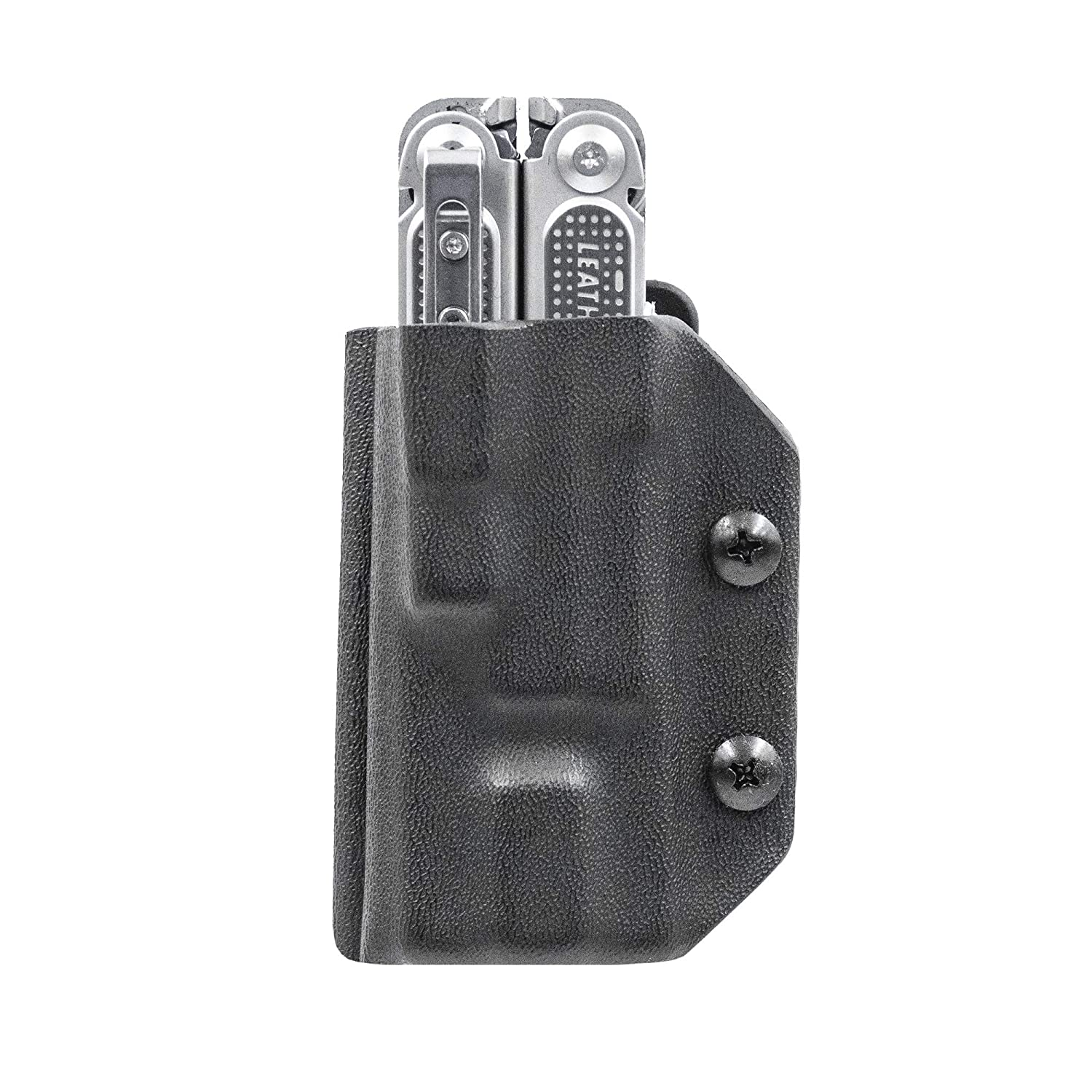 Clip Carry Kydex Multitool Sheath for LEATHERMAN FREE P4 – Made in USA Multi-tool not included EDC Multi Tool Holder Holster Cover Black