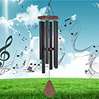 Reliancer Memorial Wind Chime Outdoor Large Deep Tone 31'' Amazing Grace Wind-Chime with 6 Aluminum Tubes Elegant…