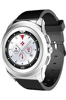 MyKronoz ZeTime Reloj Inteligente Negro, Plata TFT 3,1 cm (1.22