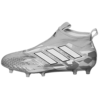 new product dc96d d2091 Image Unavailable. Image not available for. Color  adidas Men s ACE 17+ Purecontrol  FG - (Clear Grey White)