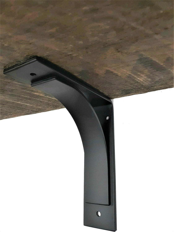 Pick Your Size Industrial shelf brackets Metal shelf brackets Corbel ONE Decorative Metal Support Bracket Iron shelf brackets Shelving