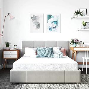 Classic Brands Cool Gel Memory Foam 6-Inch Mattress | CertiPUR-US Certified | Bed-in-a-Box, Twin