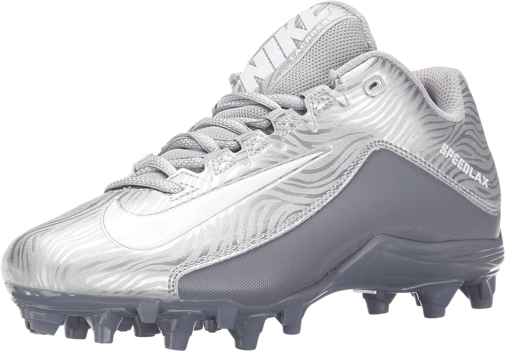 Nike Women's Speedlax 5 Lacrosse Shoe, Silver (6.5) by Nike