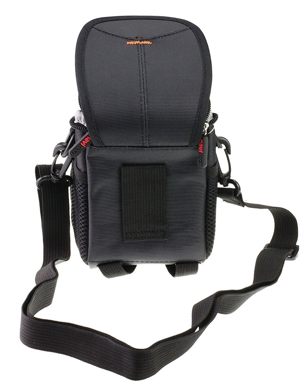 Navitech Black Camcorder Case Bag Cover Compatible With The/ Panasonic HC-V380