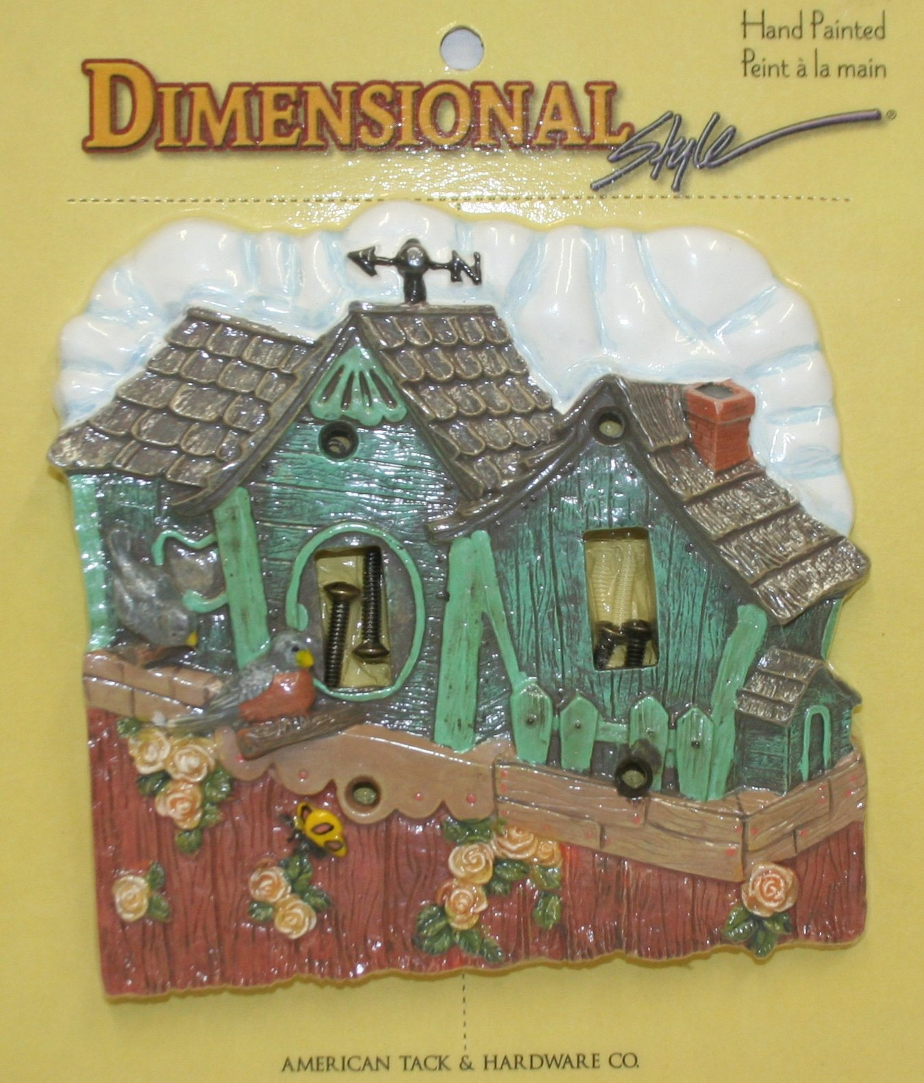 Birdhouse Decorative Switch Plate Cover
