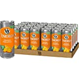 V8 Energy, Juice Drink with Green Tea, Orange Pineapple, 8 oz. Can (Pack of 24)