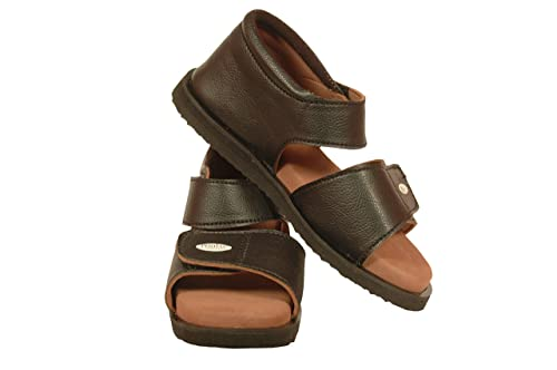 59c6b3cf150 PODIAC Elite Plus Brown Rubber Casual Sandal Female  Buy Online at Low  Prices in India - Amazon.in