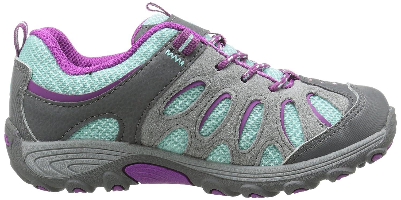 Merrell CHAMELEON LOW LACE WTPF - Botas para niñas, color azul (blue/purple), talla 29