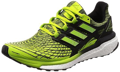 adidas Energy Boost M, Zapatillas de Running para Hombre, Verde (Slime/Sslime/Cblack Sslime/Sslime/Cblack), 40 2/3 EU: Amazon.es: Zapatos y complementos