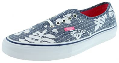 Vans AUTHENTIC LX Vault aloha aloha Vault chambray dress Azul Gr.44 7cb0c4