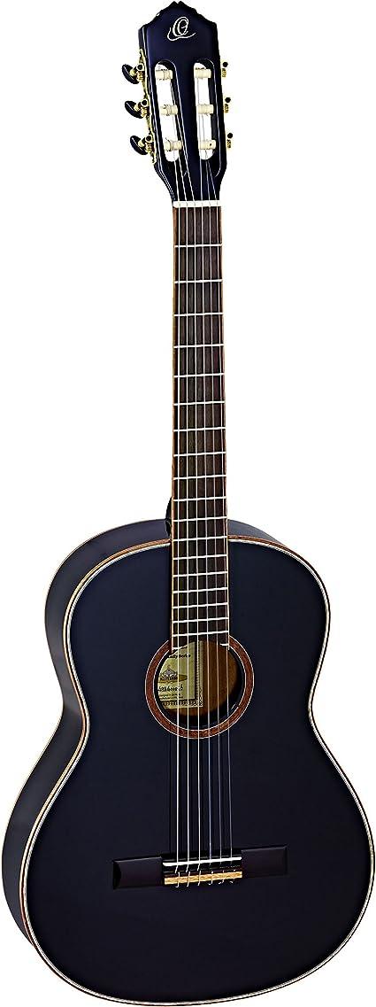 ORTEGA Guitarra Clásica Family Series 4/4 con Funda Slim Neck - BK ...