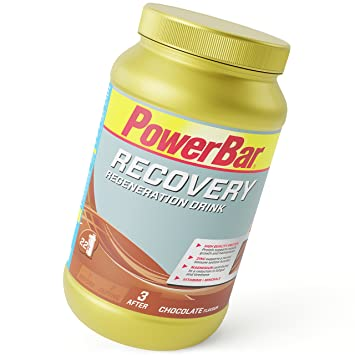 POWERBAR Recovery Drink - 1.2kg Jar, Chocolate